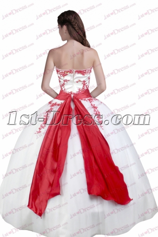 Lovely Sweetheart 2017 Quinceanera Dresses with Bow