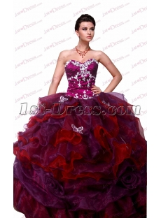 Sweet 2017 Quinceanera Ball Gown