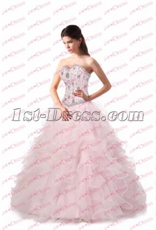 Romantic Ruffles Quinceanera Dresses 2017