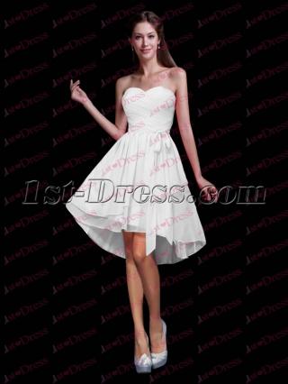 Fancy Chiffon Sweetheart Sweet 16 Dress