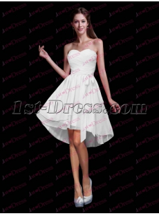 Fancy Chiffon Sweetheart Sweet 16 Dress