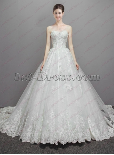 Best Lace Ball Gown Wedding Dresses 2018 Fall