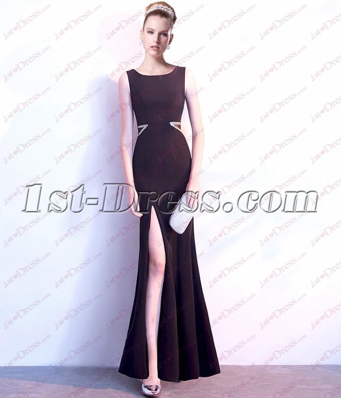 images/201810/big/Simple-Black-Sexy-Evening-Dress-with-Slit-4907-b-1-1538820864.jpg