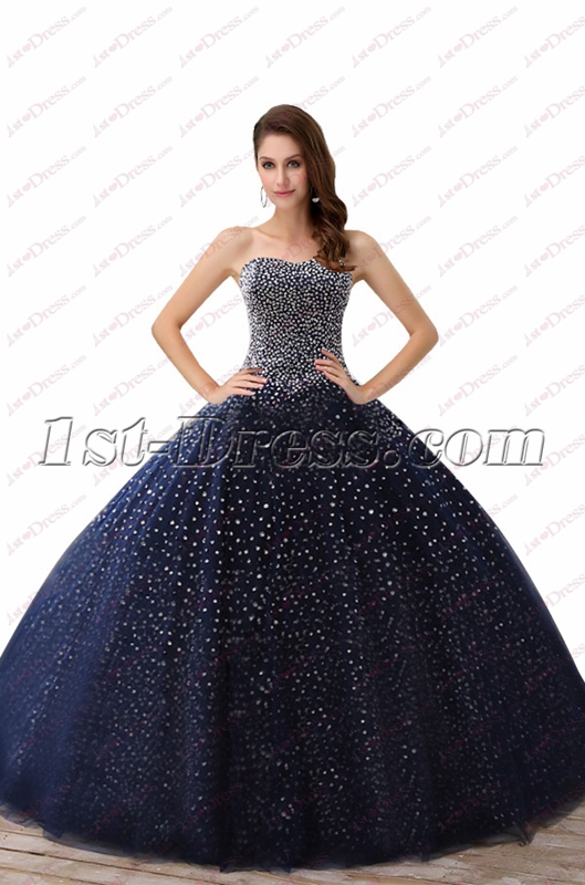 images/201810/big/Sparkly-Navy-Blue-Beaded-Ball-Gown-Best-Quinceanera-Dresses-2018-4914-b-1-1539259900.jpg