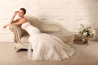 Strapless Mermaid Wedding Dress 2020