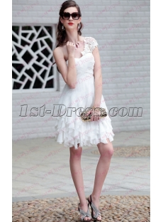 Cheap Short White Formal Dresses under 50