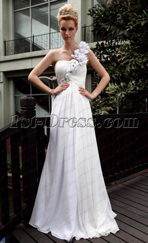 images/201911/big/Floral-White-One-Shoulder-Long-Evening-Dress-under-100-4938-b-1-1575010940.jpg
