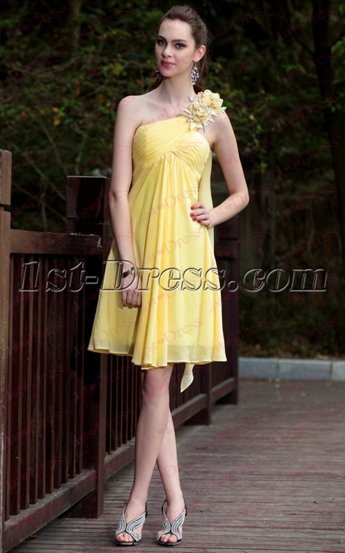 images/201911/big/Short-Yellow-Homecoming-Dresses-with-Streamers-under-50-Dollars-4931-b-1-1574066232.jpg