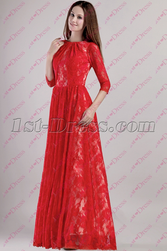 images/202005/big/Red-Lace-Celebrity-Dress-with-Long-Sleeves-4948-b-1-1590407812.jpg